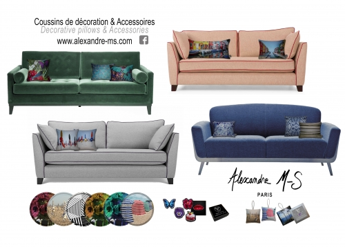 alexandre m-s,cushion,pillow,coussin,maison et objet,ny now